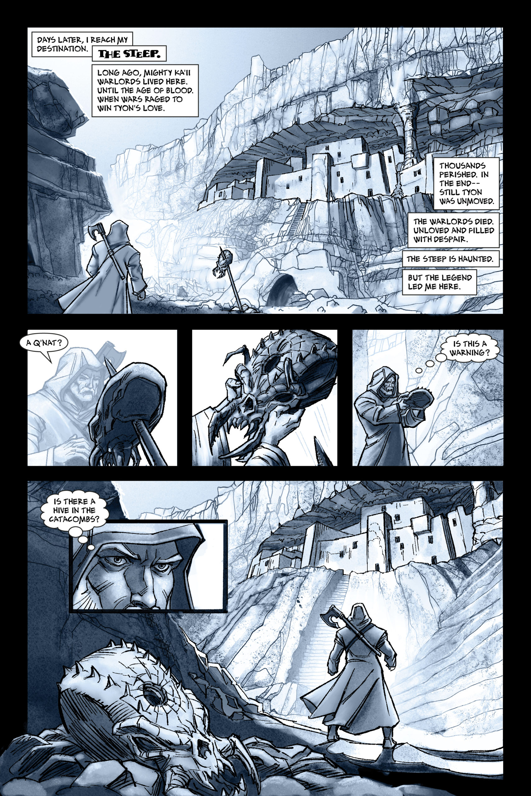 The Steep: Ruin Warlord Fortress
